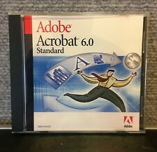 ADOBE ACROBAT 6.0 STANDARD FOR WINDOWS WITH SERIAL NUMBER