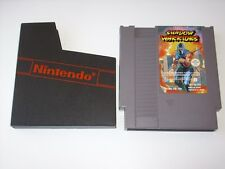 "RARE JEU NES "" SHADOW WARRIORS "" PAL FAH + POCHETTE DE PROTECTION"