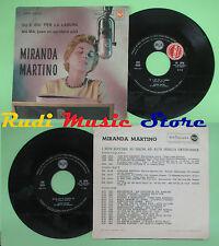 LP 45 7'' MIRANDA MARTINO Su e giu'per la laguna Ma-ma italy RCA 0909 no cd mc