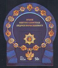 Russia 2011 ORDINE DI SANT 'ANDREA/Insignia/MEDAGLIE/ARALDICA 1 V M/S (n33004)