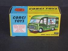 Corgi Army Field Kitchen 359  MINT CONDITION ORIGINAL BOX