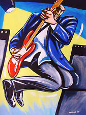 PETE TOWNSHEND PRINT poster the who tommy cd quadrophenia fender birthday gift