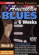 LICK LIBRARY Steve Trovatos AMERICAN BLUES GUITAR in 6 Weeks Albert King DVD 6