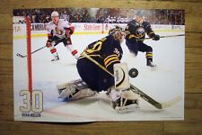 RYAN MILLER - Buffalo Sabres 2010-2011 game night poster #1 - NHL hockey 10-9-10