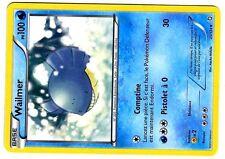 POKEMON (NOIR & BLANC) DRAGONS EXALTES UNCO N°  25/124 WAILMER 100 PV
