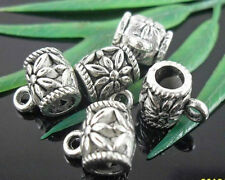 wholesale 21//70Pcs Silver Plated Connectors 24x10mm (Lead-Free)