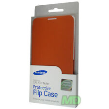 NEW Samsung Galaxy Note Flip Cover Case for AT&T i717 and T-Mobile T879 Orange
