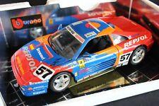 Bburago Ferrari 348 GTC-LM 1994 1:18 #57 Orléans / Saldaña / Vilarino LM (PJBB)