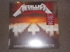Metallica - Master Of Puppets   VINYL  LP  180gr.   NEU (2017)