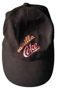 Vanilla Coke Coca Cola Black Mens Hat Cap Adjustable Soda Reward Your Curiosity