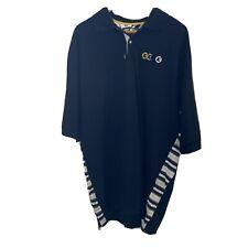Vintage G-Unit Clothing Mens Sz XXL 2XL Black Yellow Embroidered Polo Golf Shirt