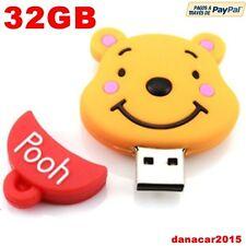 PEN DRIVE PENDRIVE DE WINNIE DE POOH 32GB 32 GB MEMORIA USB (4 8 16 64 DISNEY)