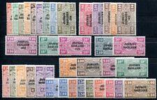 BELGIEN ZEITUNGSMARKEN 1928 1-41 ** POSTFRISCH FAST KOMPLETT 650€++(S7855
