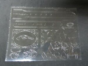 Vintage Leather Rare DOODLER Craftaid With Many Designs.