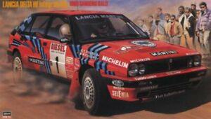 Hasegawa CR-08 1/24 Model Rally Car Kit Lancia Delta HF Integrale 16V WRC 1989