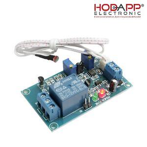 12V Car Auto Licht Relay Module Light Detect Sensor Lichtsteuerung Helligkeit