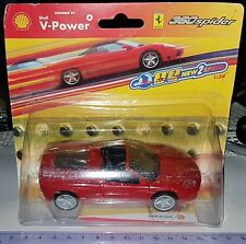 HOT WHEELS SHELL V-POWER COLLECTION FERRARI 360 SPIDER PULL BACK SCALE 1:38 NEUF