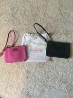Coach Designer Wristlet Purse Set with Dust Bag