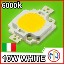 CHIP POWER LED 10W 12V Bianco Naturale 6000-6500K Alta Luminosità