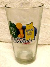 2008 NBA FINALS BOSTON CELTICS VS LA LAKERS  PINT GLASS NEW UNUSED