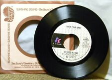 GEORGE MCCRAE ROCK YOUR BABY / ROCK YOUR BABY (PART 2) 45 RPM RECORD