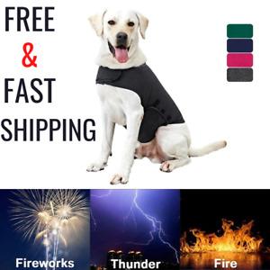 Reflective Vest Jacket For Dog Calming Thunder Shirt Small Medium Large Puppy