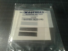 WALTHERS - transfer HO train - V256 BARRED WINDOWS - new