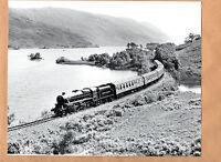 """BR West Highlander 44932 Loch Eilt Scotland 30/6/86  large Original 10""""x8"""" photo"""