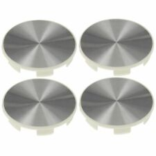 Dorman 909-101 Brand New Brushed Aluminum Center Wheel Hub Cap Set For Honda