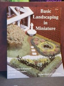 Dollhouse Miniature Book Basic Landscaping Templates 1:12 P92 Dollys Gallery