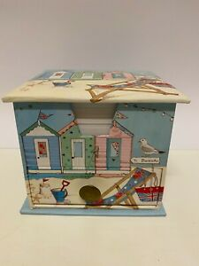 Memo Cube / Padblock with Drawer Beach Huts / Seaside Theme