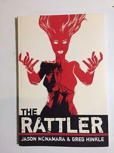 The Rattler ~Graphic Novel~ Horror/Mystery~ McNamara & Hinkle~ Autographed~ NM