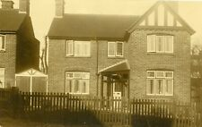 Littleover, Derby Rare RP new red brick resisdence 'Lyndhurst', Fir Walk 1925