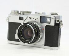 Nikon S3 35mm Télémètre Appareil Photo Avec / Nikkor-H 5cm 50mm F/2 Lentille De