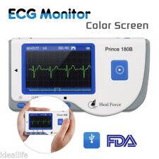 Mobiles EKG ECG Monitor Herz Gerät Heard Observer LCD Farbe Elektrokardiogramm
