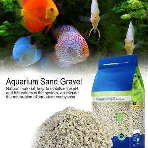 Hot Sale Fish Tank Natural Sand Gravel Aquarium Ornaments Gifts x 1000g/Bag
