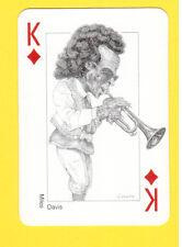 Miles Davis Trumpet Jazz Blues Music Spanish Playing Card