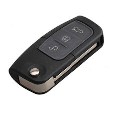 3 Button Folding Flip Remote Key Fob with 63 Chip for Ford Focus Mondeo Fiesta'