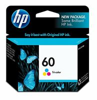 GENUINE NEW HP 60 CC643WN Color Ink Cartridge