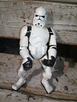 """2005 Hasbro STAR WARS STORM TROOPER WITH ACTION 7"""" TALL"""