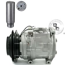 New AC A/C Compressor & Drier for: 1989 - 1994 Toyota 4Runner SR5 L4 2.4L Only