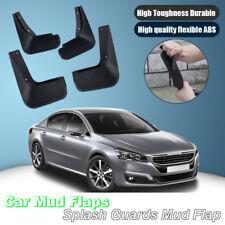 For Peugeot 508 2011-2014 Splash Guards Mud Flap Front Rear Mudguards Fender