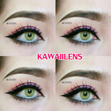 Kontaktlinsen Contact Lenses Cosmetic Cosplay Color Lens Sweety Spatax Green