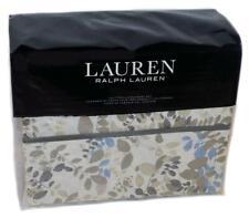 Ralph Lauren Devon Cream Multi Floral 4P Cal King Sheet Set Nwt Cotton