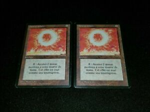 MTG 1x Revised uncommon artifact MP French FBB Sol Ring ships w/ tracking