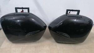 Honda VFR800 VTEC - Side Boxes/ Panniers/ Hard Luggage *Genuine Honda* (2001-13)
