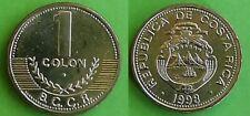 Costa Rica Coins  1 Colon  1998 ,km233 Unc