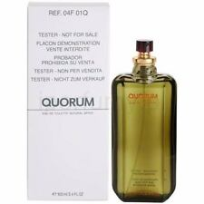 Quorum By Antonio Puig 3.3 / 3.4 Oz EDT Spray Brand New Tester Cologne For Men