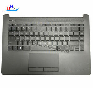 For HP 240 245 246 G7 14-CM US Palmrest Keyboard Bezel Cover Touchpad L44060-001