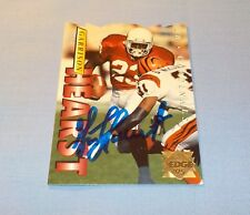 Garrison Hearst Signed Autographed 1995 Collector's Edge Card Cardinals Georgia
